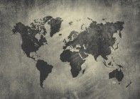 numerart_4858 Vintage World Map Wallpaper