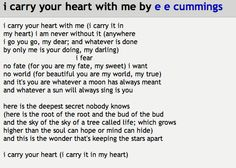 E Mings My Favorite Poem Reading At Our Wedding Love It