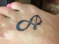 Anchor/infinity tattoo!! I love this @Matt Nickles Fulcher