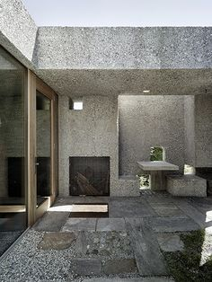 Kuster Frey Photography, Photography, Lucerne - Wespi de Meuron Romeo Architects, Courtyard Caviano -