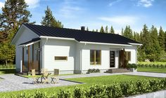 Simons Element: BRAVURA 4 h/r + k - 112.0 m² House Plans, Shed, Outdoor Structures, Outdoor Decor, Home Decor, Decoration Home, Room Decor, House Floor Plans, Home Interior Design