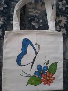 Hand Painted Dress, Hand Painted Fabric, Painted Bags, Jute Tote Bags, Canvas Tote Bags, Fabric Paint Designs, Eco Friendly Bags, Handmade Purses, Cloth Bags