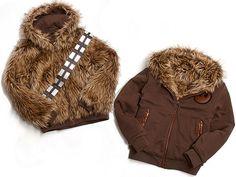 Furry Star Wars Chewbacca Jacket by Marc Ecko