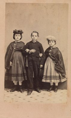 1863-1864 Rebecca, Charley and Rosa, Slave Children from New Orleans (The Horace W. Goldsmith Foundation Fund)