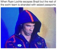 From #PhelpsFace to #LochteGate: Relive the Funniest Memes of the Olympics