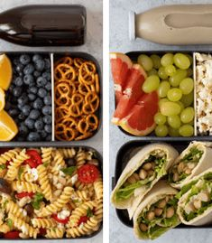High-Protein Vegan Meal Prep for Weight Loss Tasty, No-Heat Vegan School Lunch Ideas For College that will up your meal prep game in no time! These meals are easy to make and healthy too! High Protein Vegan Recipes, Easy Healthy Recipes, Lunch Recipes, Healthy Snacks, Lunch Snacks, Bag Lunches, Snacks Kids, Work Lunches, Cookbook Recipes