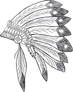 PublicDomainVectors.org-Native American Headdress. Derived from an image on Pixabay.