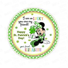 Patrick's Day Printable Tag-Funny St Patrick's Day-D.Y Tags-You Print-St. St. Patrick's Day Diy, You Are My Friend, Personalized Stickers, Happy St Patricks Day, Printable Tags, Sticker Paper, Diy Party, Party Printables, Party Supplies