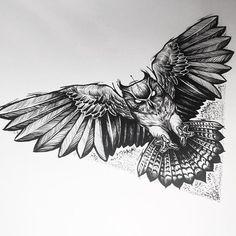 - No photo description. Owl Tattoo Back, Owl Tattoo Chest, Mens Owl Tattoo, Chest Piece Tattoos, Pieces Tattoo, Body Art Tattoos, Sleeve Tattoos, Hals Tattoo Mann, Tattoo Hals