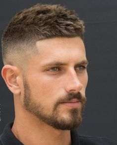 17 Greatest Low Fade Haircuts for Men in 2019 - Style My Hairs Cool Hairstyles For Men, Boy Hairstyles, Haircuts For Men, Crop Haircut, Fade Haircut, Men Haircut Short, Short Men, Hair And Beard Styles, Curly Hair Styles
