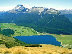 Diamond Lake - Paradise, New Zealand.