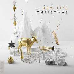 Our artwork for the Hey It's Christmas Vol. 3 free christmas album