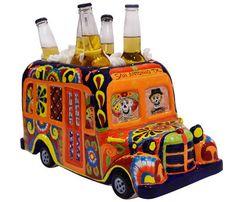 """Bus Beer Cooler 9"""" x 15"""""""