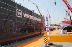 WIRTGEN - CNR EXPO  #ankomak #wirtgen #stand #design #fair #fuar #booth #exhibition #idilbanu #space #solution