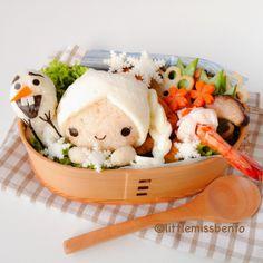 Little Miss Bento  シャリーのかわいいキャラベン: Frozen Bento Workshop キャラ弁教室「アナと雪の女王」#FunFoodFriday