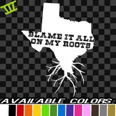 Texas TX Vinyl Decal Car Truck Sticker Bumper Window By JDCdecals - Vinyl decals houston tx