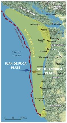 major subduction zone events happen every 250 years but its been over 360 since an