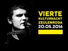 Plakat für die Kulturnacht Zeulenroda 2016