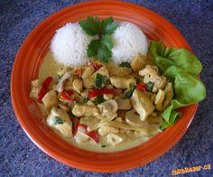 KUŘECÍ MASO NA KARI. Recipies, Curry, Chicken, Meat, Food, Recipes, Curries, Rezepte, Essen