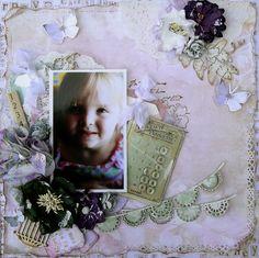 Cherish ~ C'est Magnifique - Scrapbook.com