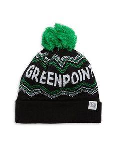 Tuck Shop Co. Greenpoint Knit Hat Women's Black