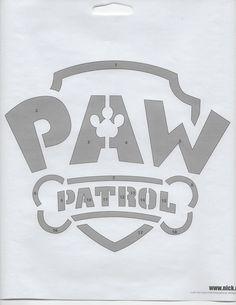 Paw Patrol Design Halloween Pumpkin Craving Patterns Halloween Pumpkin Designs, Halloween Stencils, Halloween Design, Diy Halloween Decorations, Stencil Templates, Stencil Patterns, Stencil Diy, Camisa Paw Patrol, Paw Patrol Shirt