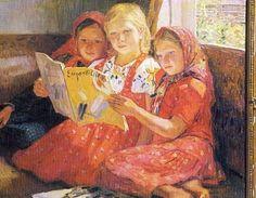 NIKOLAY PETROVICH BOGDANOV-BELSKY (1868-1945).