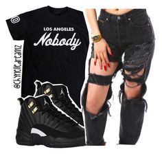 """""""Nobody"""" by chynelledreamz ❤ liked on Polyvore"""