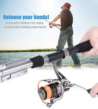 Cheap fishing pole, Buy Quality fishing rod directly from China rod fishing Suppliers: Automatic Fishing Rod Sea River Lake Stainless Steel Fishing Rod Fish Pole Hard with Storage Bag for Fishing Sea Fishing Rods, Fishing Rod Storage, Telescopic Fishing Rod, Fishing Tools, Fishing Videos, Fishing Tackle, Spinning Rods, Fishing Accessories