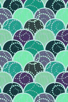 Boho Mermaid - iPhone Wallpaper - Instant Download on Etsy, $1.00