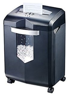 Bonsaii Paper Shredder, Heavy-Duty Cross-Cut CD and Credit Card Shredder Machine for Large Office and Home Use, Pullout Bin with 4 Casters, Black Nb Sneakers, Shredder Machine, Document Shredding, Paper Shredder, Shredded Paper, Office Paper, C 18, 139, Paper Cutting