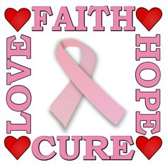 Pink Ribbon Banner #8286 Ribbon Banner, Backdrops, The Cure, How To Memorize Things, Faith, Symbols, Letters, Prints, Letter
