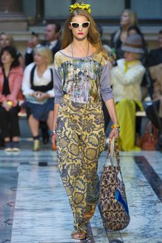 Vivienne Westwood Red Label at London Fashion Week 2012