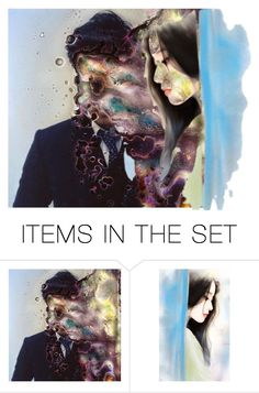 """""""Don't forget my face..."""" by beanpod ❤ liked on Polyvore featuring art"""