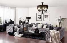 Living Room | Casa Shamuzzi  glam blingy furniture