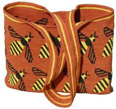 Bee bag Carol Ventura - Tapestry Crochet