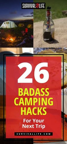 World Camping. Tips, Tricks, And Techniques For The Best Camping Experience. Camping is a great way to bond with family and friends. As long as you have the informati Diy Camping, Camping Hacks With Kids, Camping Games, Camping Checklist, Camping Essentials, Camping Equipment, Camping Meals, Family Camping, Outdoor Camping