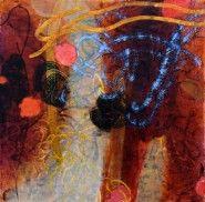 Blue #1048 35x35 2006 - Leslie Kenneth Price-