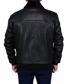 Simon Pegg Star Trek Beyond Jacket Simon Pegg, Star Trek Beyond, Black Faux Leather, Rib Knit, Leather Jacket, Celebs, Stars, Sleeves, Jackets