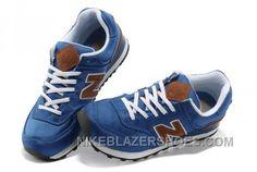 new style a2d4a 2ac70 Soldes La Nouvelle Version De Femme New Balance WL1574BPB Bleu Brun Noir  Chaussures Soldes Discount