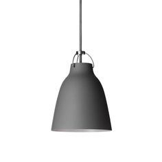 Caravaggio pendant by Fritz Hansen charms with the elegance of dark grey, matt-lacquered shade. Designed by Cecilie Manz, Caravaggio lamp features a deep shade which prevents glare, and an opening at the top, allowing the light to cast also upwards. White Pendant Light, Modern Pendant Light, Pendant Lighting, Contemporary Light Fixtures, Modern Lighting, Fritz Hansen, Caravaggio, Home Decor Inspiration, Kitchen Inspiration