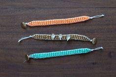 DIY Beaded Bracelets | Darby Smart | Style