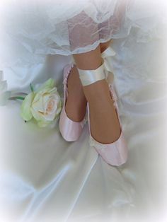 Pink Ballet Wedding Shoes  Perfect Wedding Dance Shoes! by HopefullyRomantic