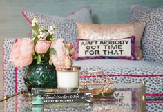 Primark home homeware interiors decor reading list bookshelf emily murray pink house