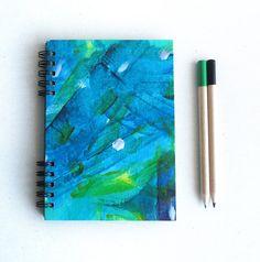 Sargasso Sea. Hardcover notebook. Original paint por kinmcuadernos, €11.00