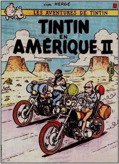 Tintin en Amérique II (Spoof Cover)