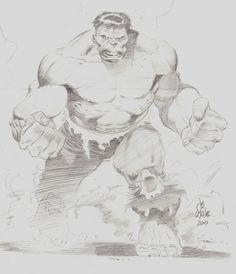 The Incredible Hulk by Lee Weeks, in ShannonSlayton's Lee Weeks Comic Art Gallery Room - 1110288