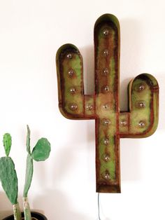 Indoor/outdoor cactus lamp | Mojave Moon Design