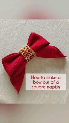 Napkin Ring Folding, Christmas Napkin Folding, Simple Napkin Folding, Diy Napkin Rings, Wedding Napkin Folding, Diy Origami, Napkin Origami, Dinner Napkins, Cloth Napkins