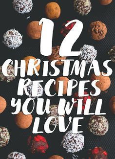12 Christmas Recipes you need to make this year - festive bread, pancakes, hot chocolate, smoothie, cookies, granola, chia pudding, porridge, and more! http://thehealthfulideas.com/12-christmas-recipes/